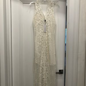 Miguelina Dresses - MIGUELINA EVE CROCHET MAXI DRESS | NEW WITH TAGS